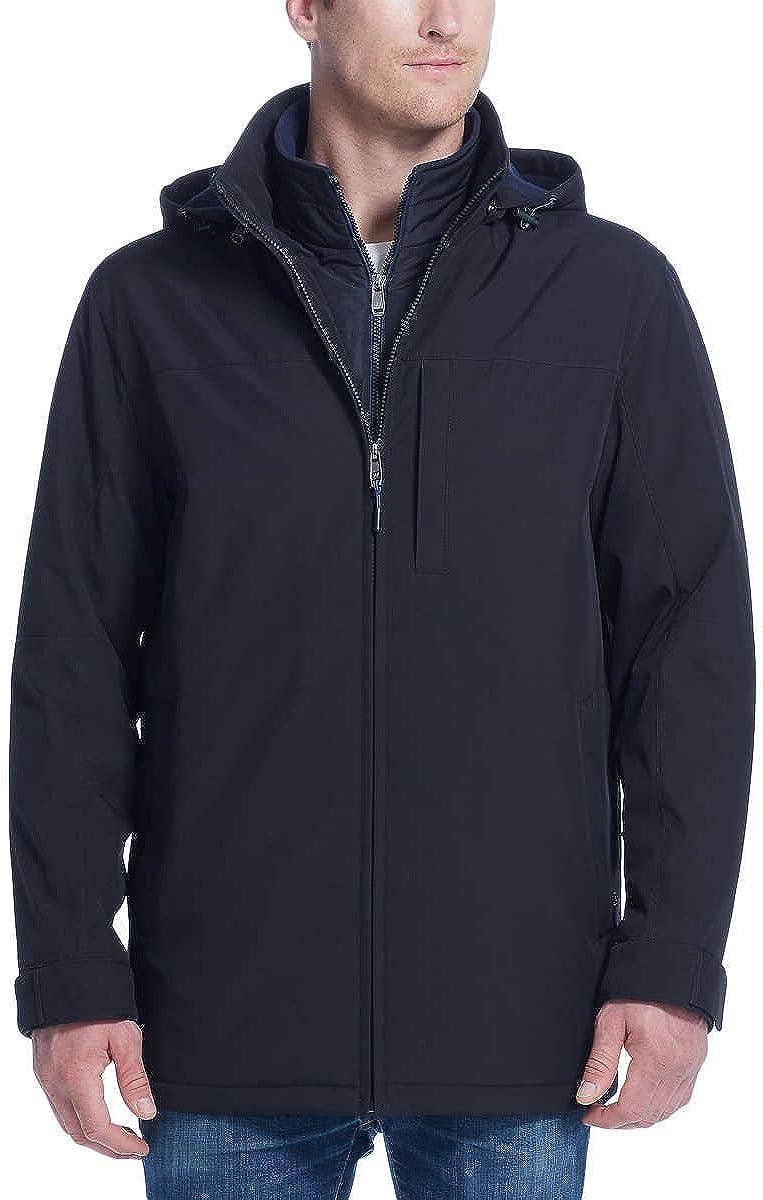 Weatherproof Men's Ultra Tech Bib Jacket Removable Product New mail order Fleece