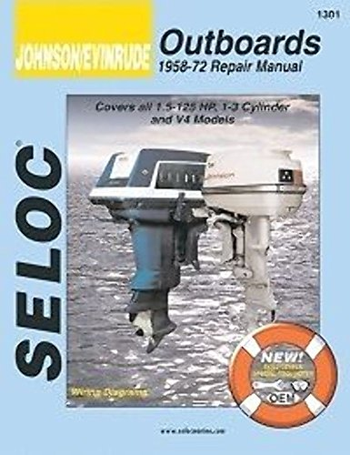 Manual Motor Volume Service Outboard (Johnson/Evinrude Outboards, 3-4 Cylinders, 1958-72 (Vol 3 (1958-72)))