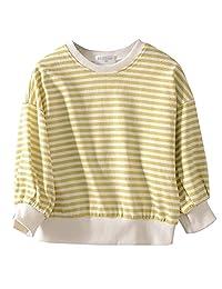 KADILUER Boys Cotton Pullover Sweaters Long Sleeve Crewneck Sweatershirts 1-6T