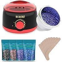 TAURI Rapid Melt Hair Removal Waxing Kit Wax Warmer