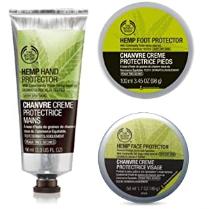 Hemp Face Protector 50ml + Hemp Foot Protector 100...