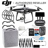 DJI Phantom 4 PRO+ PLUS Obsidian Edition Drone Quadcopter Includes Display (Black) Starters Bundle