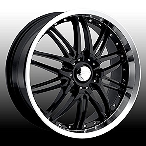 Platinum Apex 16 Black Wheel / Rim 4×100 & 4×4.25 with a 40mm Offset and a 73 Hub Bore. Partnumber 200-6701B