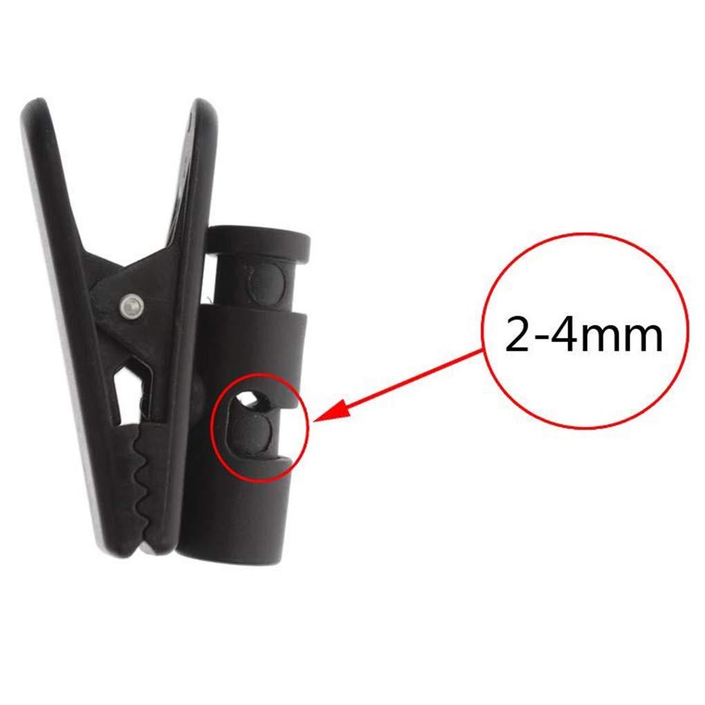 shangjunol Tel/éfono m/óvil del Collar del Clip de la Manga de walkie Talkie Auricular Auriculares de Mano micr/ófono Fijo Cable de Datos de Carga