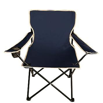 ZHEDIEYI Sillas Plegables Práctico portavasos barandilla sillas de ...