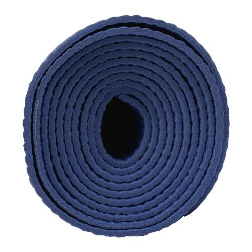 Yoga Travel Mat, Royal Blue, 24'' X 68'' X 2 mm thick by Clever Pro