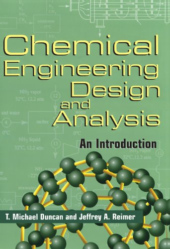 Download Chemical Engineering Design and Analysis: An Introduction (Cambridge Series in Chemical Engineering) Pdf