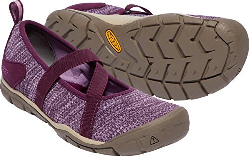 Donne Appassionate Hush Knit Mj-w Hiking Shoe Vino Duva / Lavanda Alle Erbe