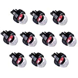 Hippotech Pack of 10 Primer Bulbs for Husqvarna Stihl Craftsman Poulan Chainsaw 455 Rancher 460 445 450 435 Replaces 503936601