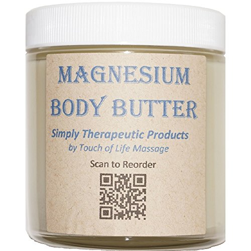 Magnesium Body Butter, All-Natural Product (Butter Body Touch)