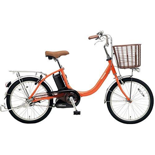 Panasonic(パナソニック) 2018年モデル ビビLS 20インチ BE-ELLS032 電動アシスト自転車 専用充電器付 B077V98Y6GK:ラセットオレンジ