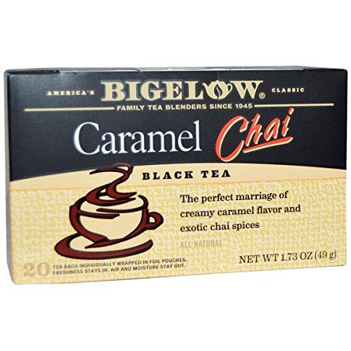 Bigelow Caramel Chai Tea, 20 Count (Pack of 6) by Bigelow Tea