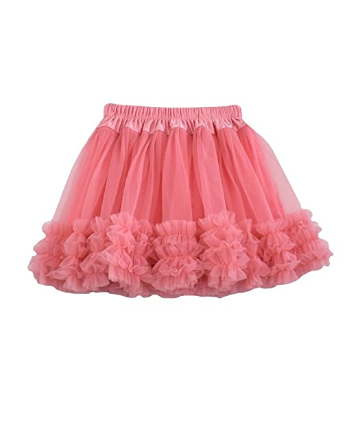 9e24b891dc Elfin-Lore Kids Girls Mini Skirts Cute Summer Tutu Pettiskirt Dance Ballet  Carnival: Amazon.co.uk: Clothing