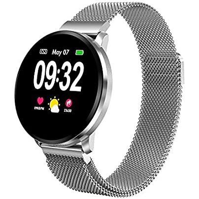 GoYisi Smart Wristbands CF68 1 22 inch IPS Display Color Screen Smart Bracelet IP67 Waterproof Support Call Reminder Heart Rate Monitoring Blood Pressure Monitoring Sleep Monitoring Sedentary Remi Estimated Price -