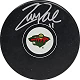 Zach Parise Hand Signed Minnesota Wild Autograph Puck