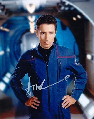 DOMINIC KEATING as Malcolm Reed - Star Trek: Enterprise GENUINE AUTOGRAPH from Celebrity Ink