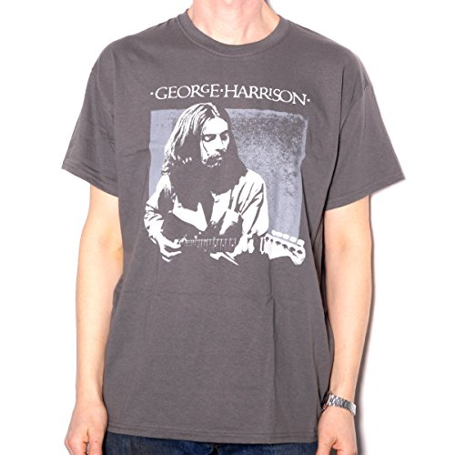 George Harrison T Shirt - Portrait 100% Official Fully Licensed (George Harrison All Things Must Pass T Shirt)