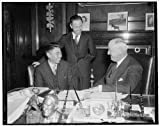 Photo: PMG Farley receives official,China Post Office Confederation,Chi Hsueh Fan,1937