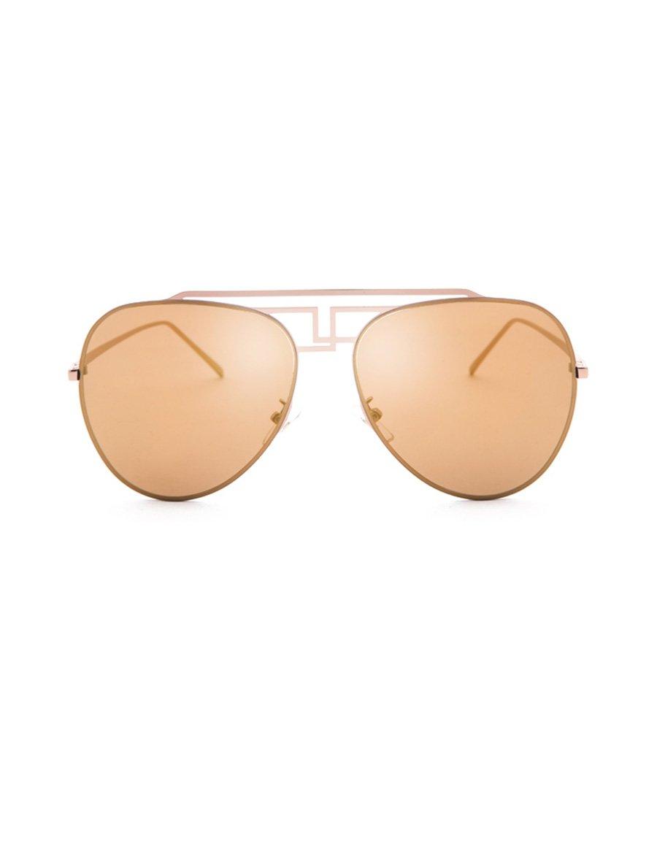 Sonnenschutz -Sonnenbrille Neue Persönlichkeit Sonnenbrille Big Gesicht Runde Gesicht Männer und Frauen Sonnenbrillen Leicht zu tragen ( Farbe : 1 )