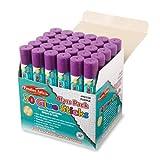 Charles Leonard Glue Sticks, 0.28 Ounce Sticks, Purple, 30-Pack (94358)