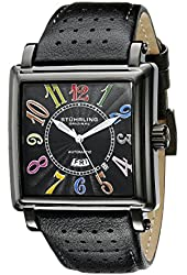 Stuhrling Original Men's 149C.33551 Leisure Manchester Ozzie Automatic Day and Date Black Watch