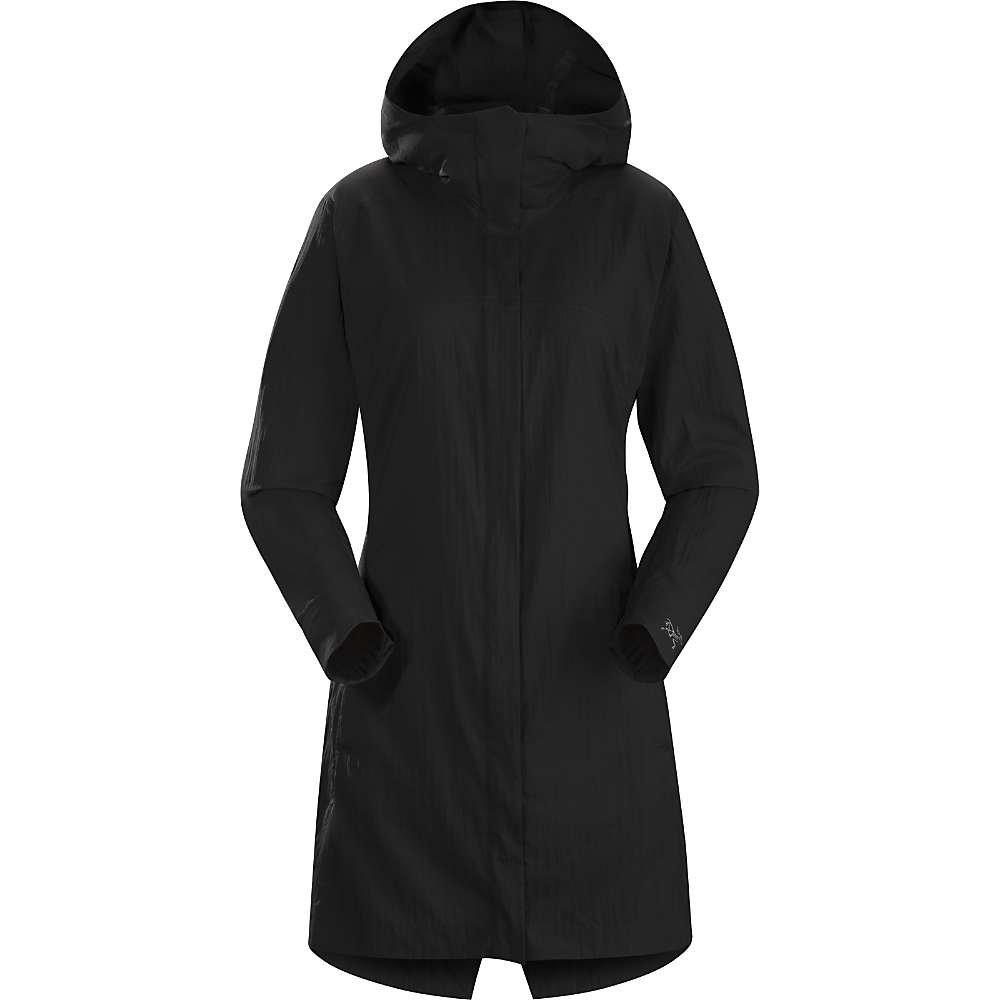 ARC`TERYX(アークテリクス) A2B ウィンドブレーカー ジャケット A2B Windbreaker Jacket Women L06829400 L ブラック B01GFJMQZQ