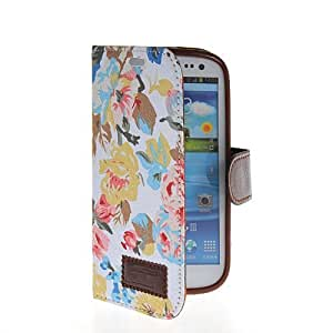 Kaseberry New design Flip ID Card Wallet Case Colorful PU Leather Purse Design Case Cover for Samsung Galaxy S3 i9306