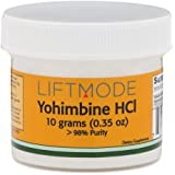 Yohimbine HCl - 10 Grams (4000 Servings at 2.5 mg) | #1 Value for Money #Top Libido Supplement | For Men & Women, Fat Burner, Male & Female Power Powdered Yohimbe Bark Extract