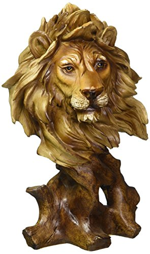 Bust Garden Statue - Lion Bust Collectible Figurine
