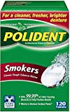 Polident Smokers Denture Cleanser 120 ea (Pack of 2)