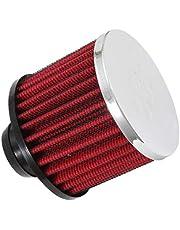 K&N 62-1490 Vent Filters, Chrome