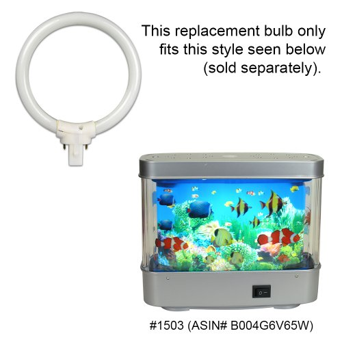 Circular Fluorescent Bulb 4 Inch Diameter 7 Watt Replacement For Aquarium  Lamp Ocean In Motion Night Light (#1503)   Buy Online In UAE.