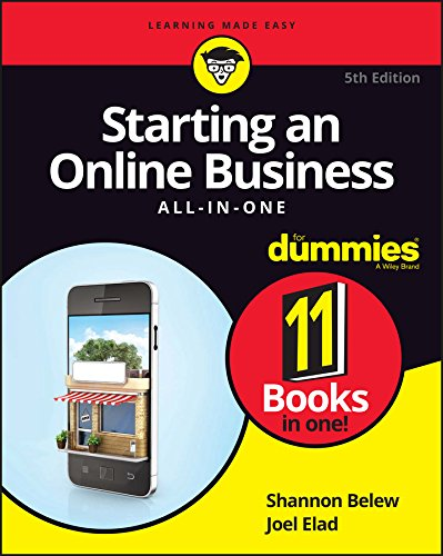Starting An Online Business All In One For Dummies  For Dummies  Business And Personal Finance