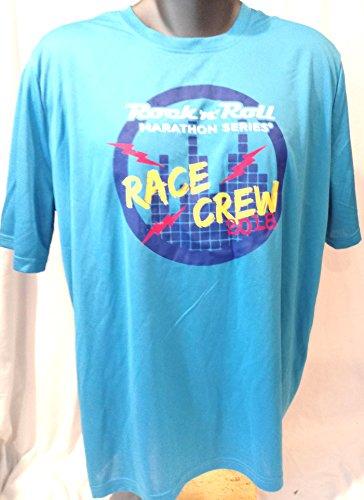 (Rock N Roll Marathon Run T Shirt, Rock N Roll Race Crew 2018 Run Tee Shirt, 2018 Rock N Roll Run XL Shirt)