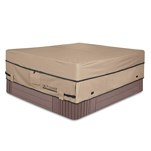 ULTCOVER 600D Polyester Square Hot Tub Cover