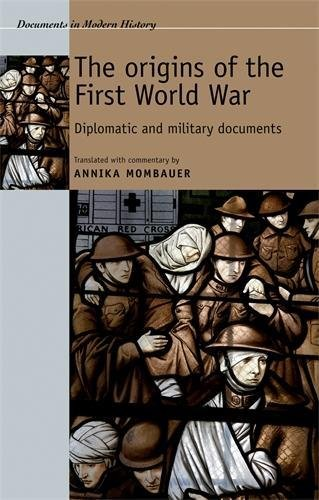 Document Control (The origins of the First World War: Diplomatic and military documents (Documents in Modern History MUP))