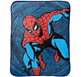 Marvel Spiderman 'Comic' Plush 46'' x 60'' Throw