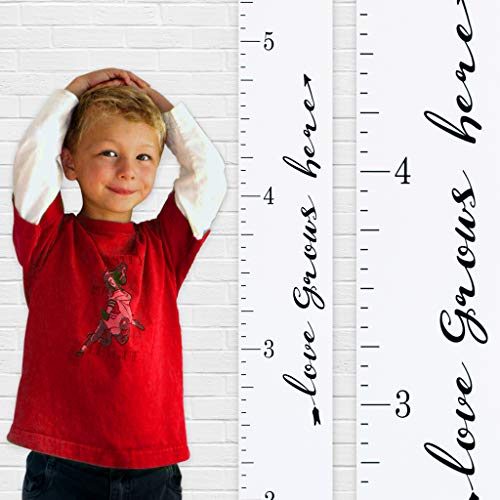 oversized ruler growth chart - 7