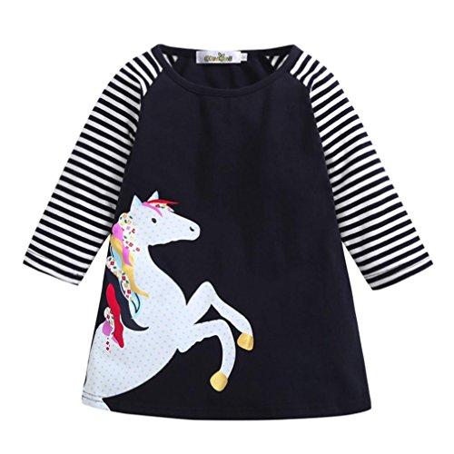 Goodlock Toddler Kids Fashion Dress Baby Girls Autumn