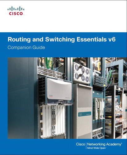 1587134284 - Routing and Switching Essentials v6 Companion Guide