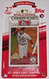 2011 Topps St Louis Cardinals World Series Champions Limited Edition Factory Sealed (27 Card Set) Featuring Albert Pujols, David Freese, Lance Berkman and More!