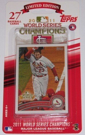2011 Topps St Louis Cardinals World Series Champions Limited Edition Factory Sealed (27 Card Set) Featuring Albert Pujols, David Freese, Lance Berkman and ()