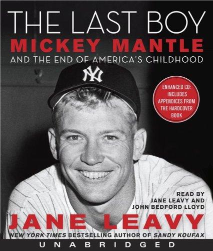 The Last Boy CD by HarperAudio