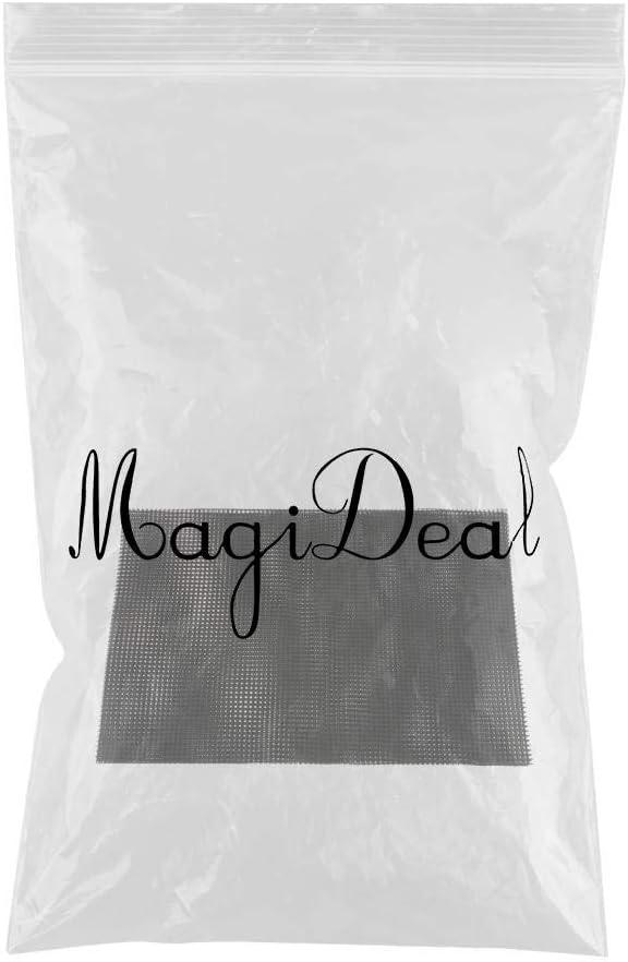 10X Drainage Mesh Sheet Bonsai Flowerpot Bottom Net Bug Pest Control 4.5cm