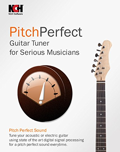 PitchPerfect Guitar Tuner Software for Musicians - Automatic Note Detection  [Download]