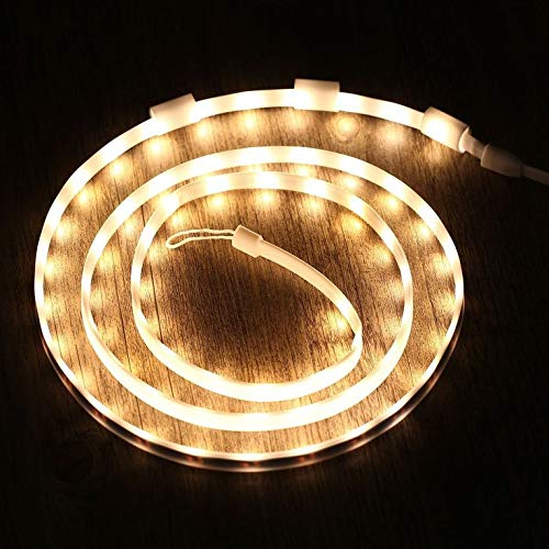 OCDAY Camping LED String Lights Waterproof Portable USB Rope Strip Lights Lantern