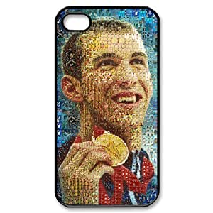 THYde EVA Michael Phelps iPhone 6 4.7 Case,Snap-On Protector Hard Cover for iPhone 6 4.7 ending