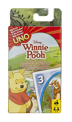 Disney Winnie the Pooh My First Uno Card Game