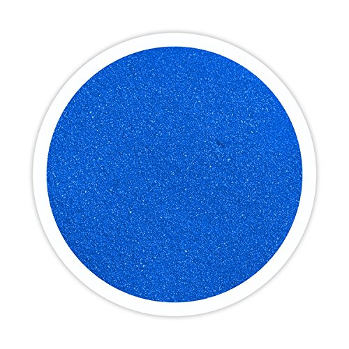 Sandsational Royal Blue (Cobalt) (Horizon) Unity Sand, 3 Pounds, Colored Sand for Weddings, Vase Filler, Home Décor, Craft Sand -