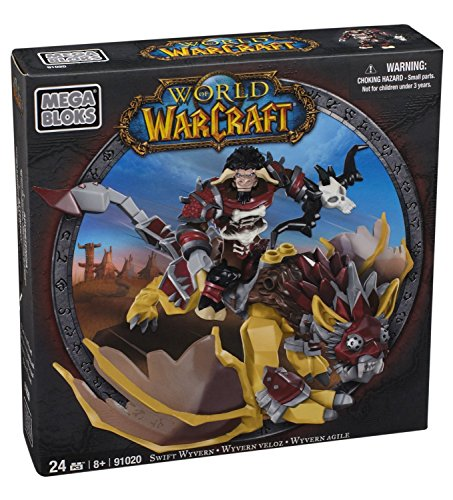 Mega-Bloks-World-of-Warcraft-Swift-Wyvern-and-Scarbuck-Horde-Tauren-Hunter